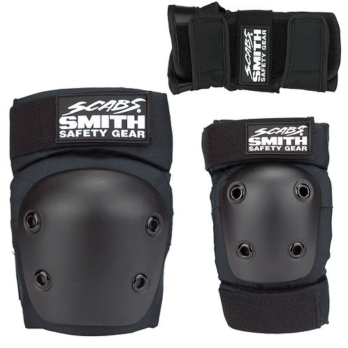 SMITH SCABS - YOUTH 3 PACK BLACK