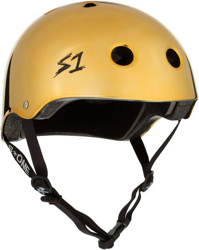 S1 Lifer Helmet - Gold Mirror