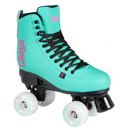 CHAYA 'BLISS' ADJUSTABLE ROLLER SKATES - TURQUOISE