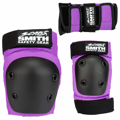 SMITH SCABS - YOUTH 3 PACK PURPLE
