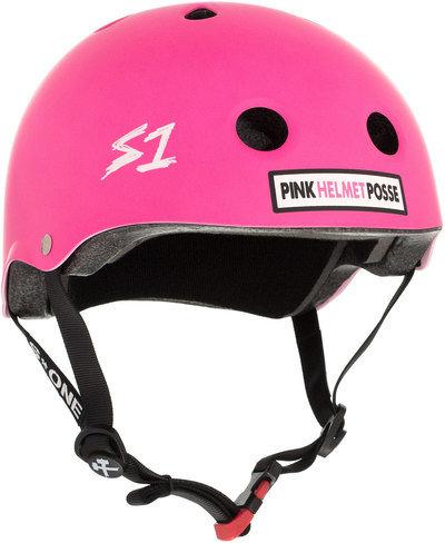 S1 Mini Lifer Helmet -Pink Helmet Posse