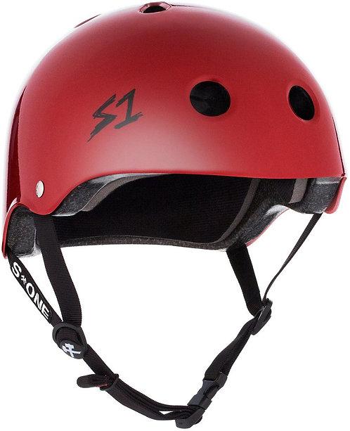 S1 Lifer Helmet - BLOOD RED GLOSS