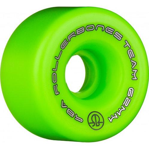 Rollerbones Team Logo 62mm 98A 8pk