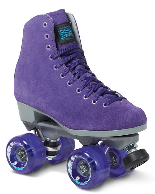 Sure-Grip Boardwalk Outdoor Roller Skates -PURPLE- Nylon Plate