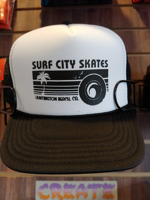 SURF CITY SKATES RETRO SUNSET HAT