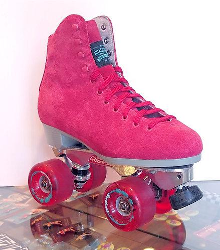 Sure-Grip Boardwalk Avanti Outdoor Roller Skates - RED