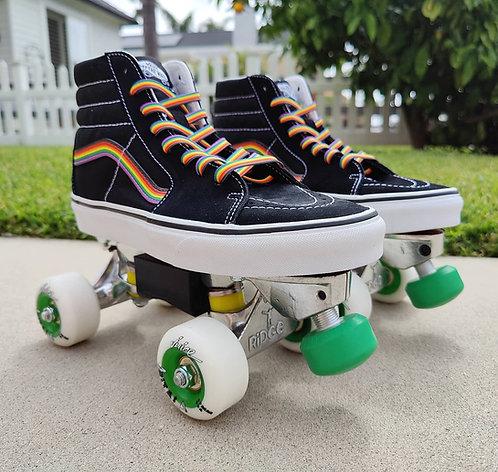 Custom Vans Avanti  Park Roller Roller Skates