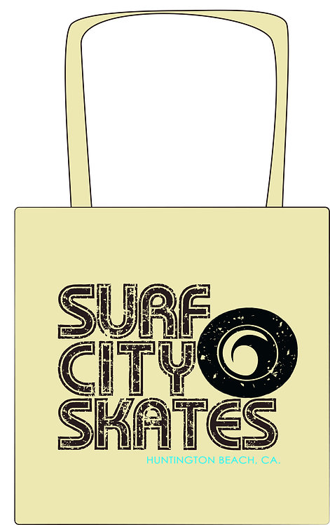Surf City Skates Tote Bag