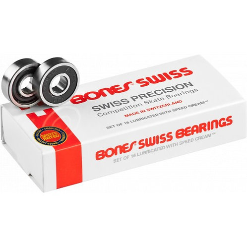 BONES SWISS BEARINGS 16-PACK