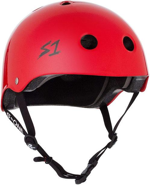 S1 Lifer Helmet - BRIGHT RED