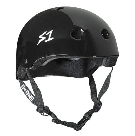 S1 MEGA Lifer Helmet - BLACK GLOSS