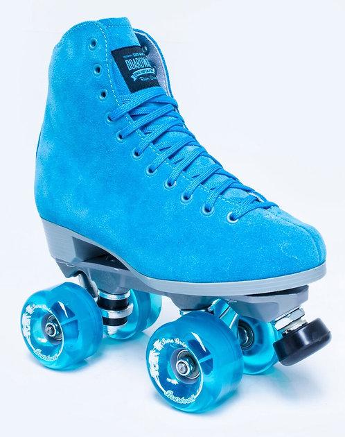Sure-Grip Boardwalk Outdoor Roller Skates - Turquoise