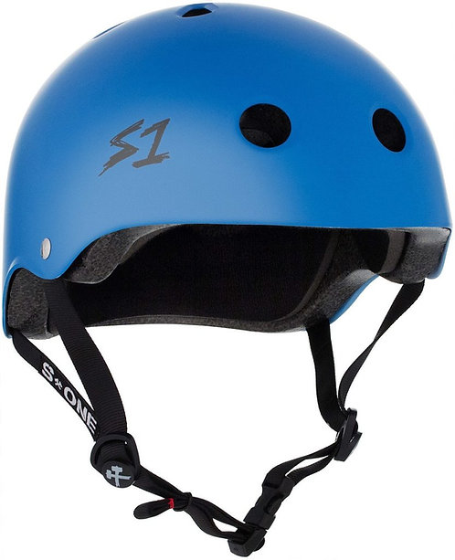 S1 Lifer Helmet -CYAN MATTE