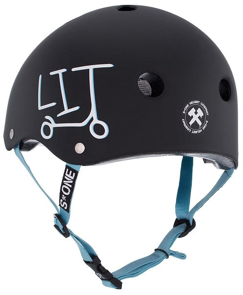 S1 LIFER HELMET - UNDIALED LIT COLLABORATION - BLACK MATTE