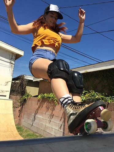 skater girl,LEAH PARRA,roller skater,VANS
