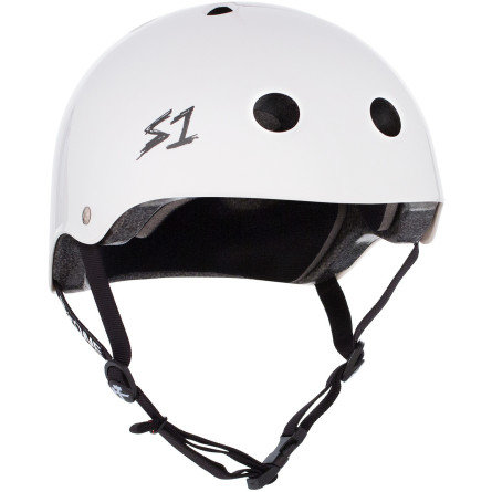 S1 Lifer Helmet - WHITE GLOSS