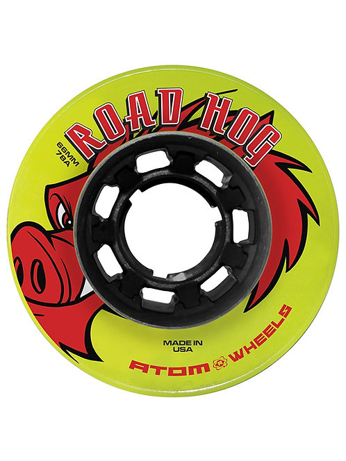 ATOM 'ROAD HOGS' OUTDOOR SPEED ROLLER SKATING WHEELS