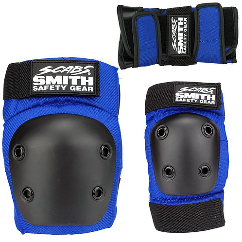 SMITH SCABS - YOUTH 3 PACK BLUE