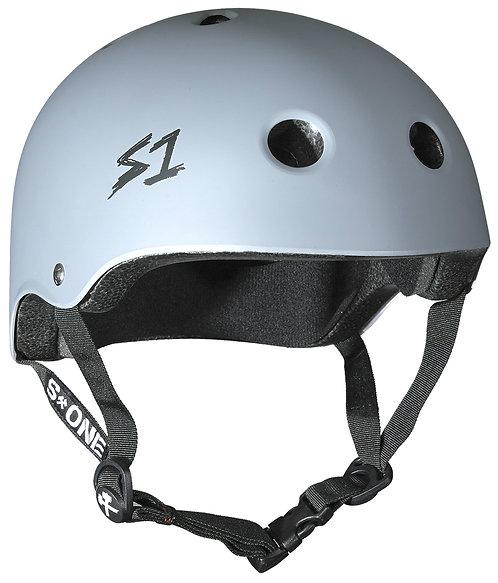 S1 Lifer Helmet - LIGHT GREY MATTE