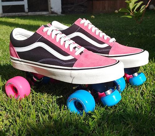 Custom Vans Roller Skates - Old Skool Low Top