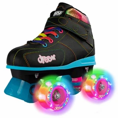 CRAZY SKATE CO. 'DREAM' ROLLER SKATES WITH LIGHT-UP WHEELS