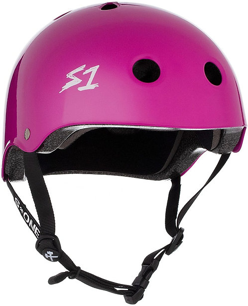 S1 Lifer Helmet - BRIGHT PURPLE GLOSS