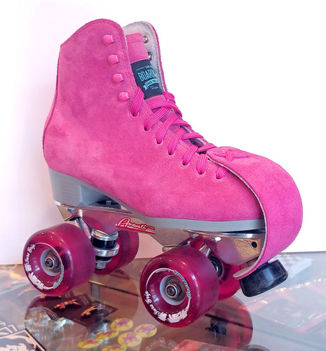 8d29c595dad4 Sure-Grip Boardwalk AvantiOutdoor Roller Skates (Shown with matching  toe-guards)