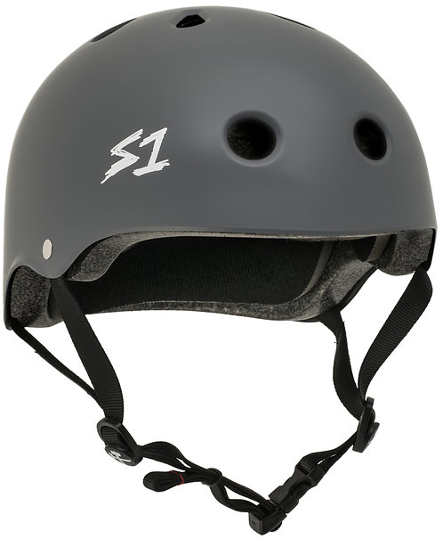 S1 MEGA Lifer Helmet - DARK GREY MATTE