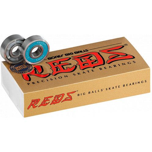 BONES BIG BALLS REDS BEARINGS 8mm / 16-pk