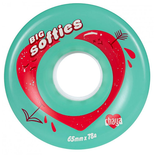 CHAYA BIG SOFTIE'S WHEELS - CLEAR TEAL
