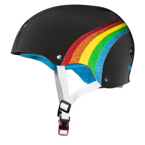 TRIPLE 8 CERTIFIED SWEATSAVER RAINBOW HELMET