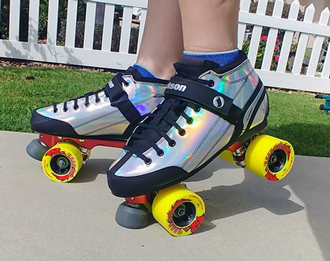 ATOM/ JACKSON SUPREME VIPER HOLOGRAM OUTDOOR QUAD SKATE PACKAGE