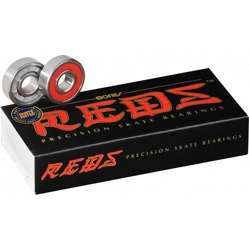 BONES REDS Bearings 16 pack -8mm/ 7mm