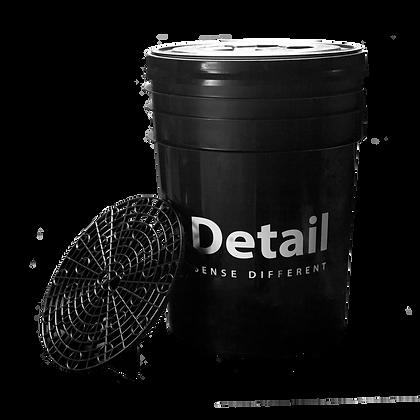 Detailing Bucket met rooster en Deksel - 20 liter