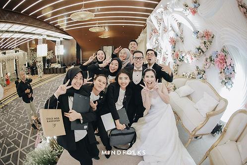 Bahagia Bersama IKK Wedding di Gedung Pernikahan Jakarta Utara