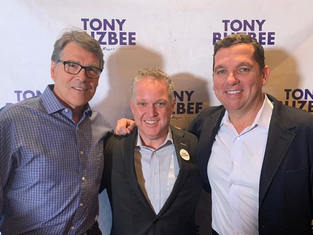 Texas Governor Rick Perry & Tony Buzbee