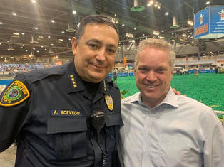 Art Aceveda Houston Police Chief