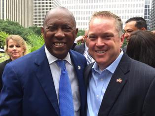 Mayor of Houston Sylvestor Turner