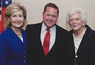 First Lady Barbara Bush & US Senator  Kay Baily Hutchison