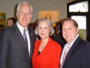 US Senator John Cornyn & Wife