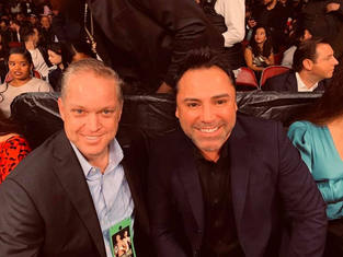 Oscar De La Hoya Boxing Champion