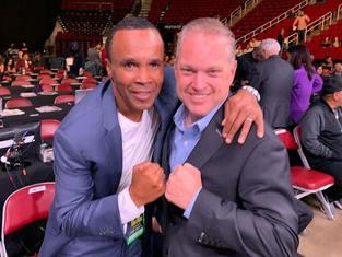 Sugar Ray Leonard Boxing Champion