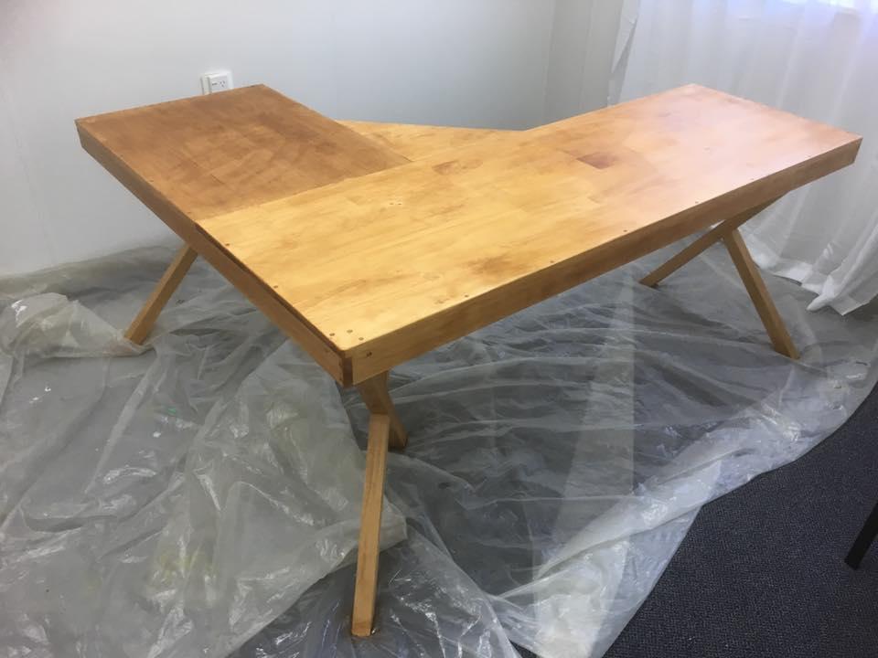 Desk made by Ben (Handyman)