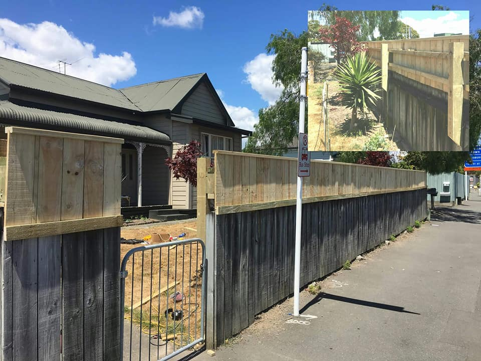 Fence extension for privacy