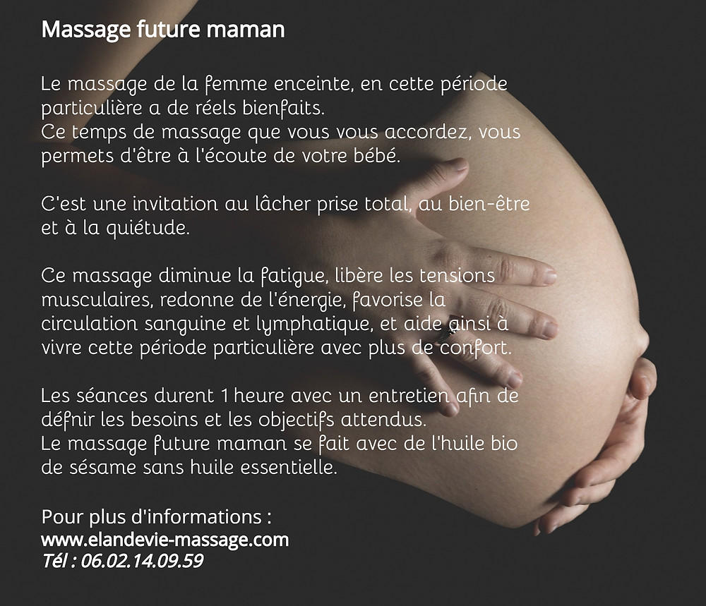 Massage future maman à Avignon et à Villeneuve lez Avignon - Massage grossesse - Massage femme enceinte à Avignon