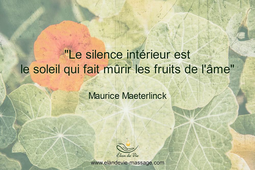 Citation silence intérieur