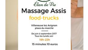Massage assis à Villeneuve lez Avignon