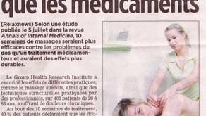 Les bien-faits du massage