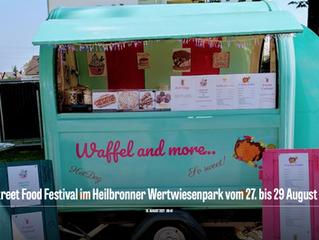 9. Street Food Festival im Heilbronner Wertwiesenpark vom 27. bis 29 August 2021
