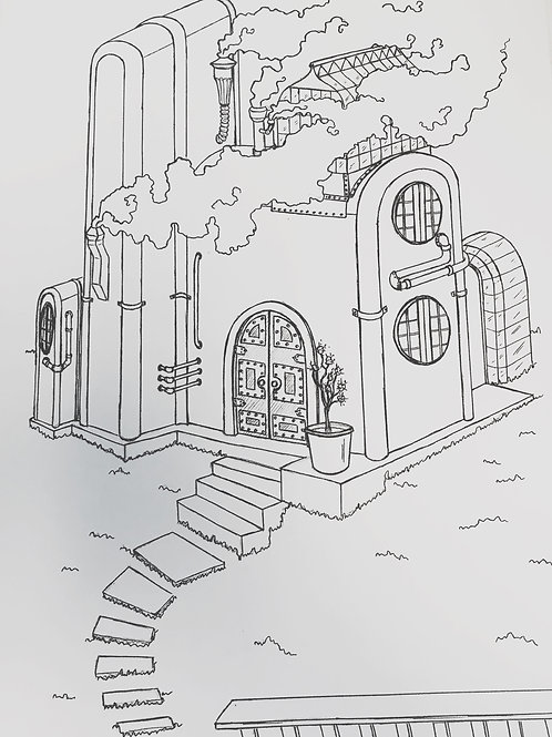 Limited Edition Illustration- Webley's House